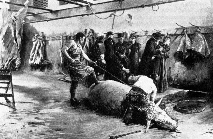 Les buveurs de sang, Joseph-Ferdinand Gueldry, 1898