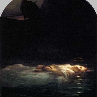 La jeune martyre - Paul Delaroche - 1855