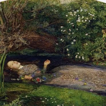 La mort d'Ophélie - John Everett Millais - 1851-1852
